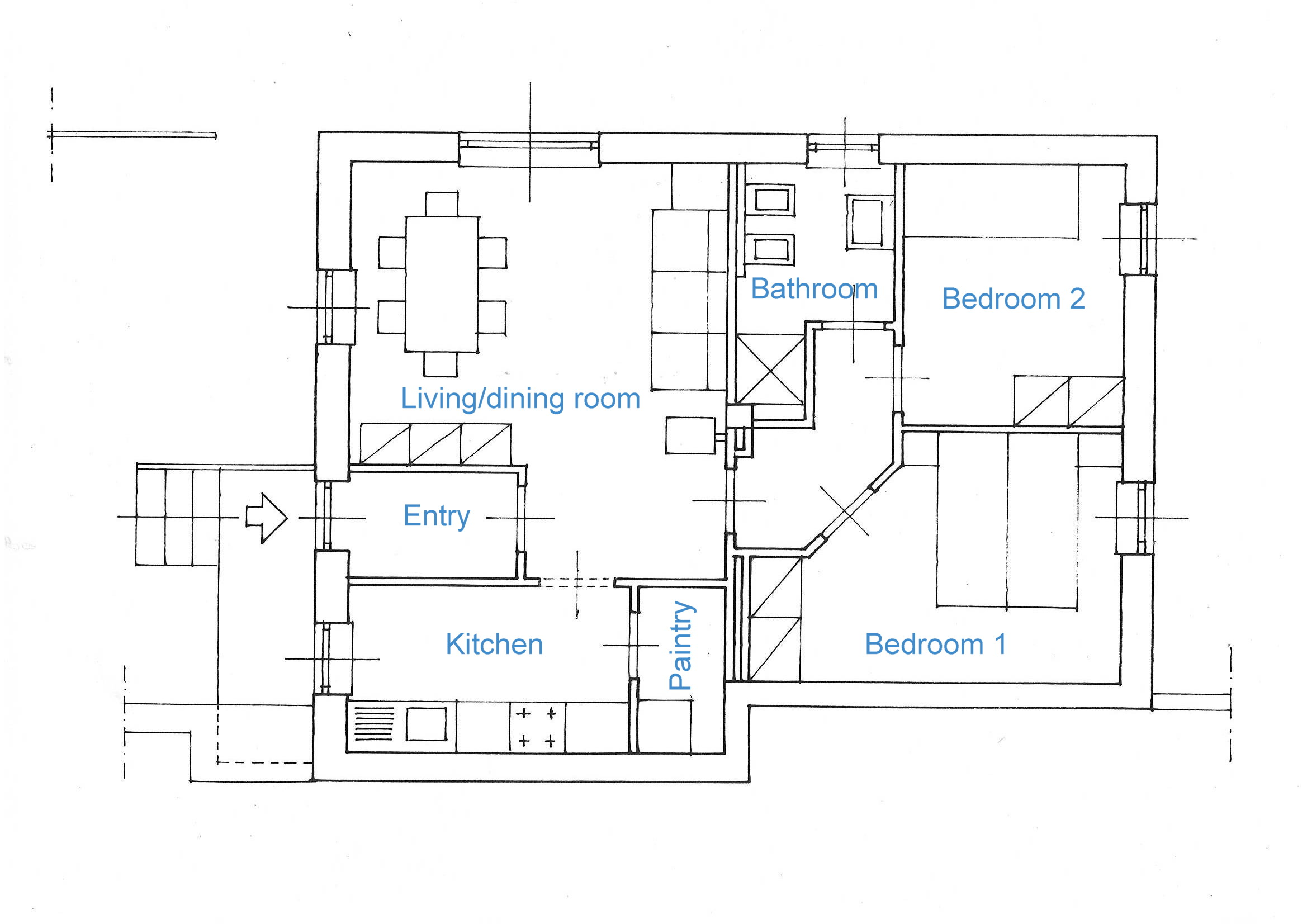 Apartment's map